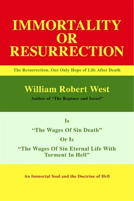 Cover image for Resurrection or Immortality