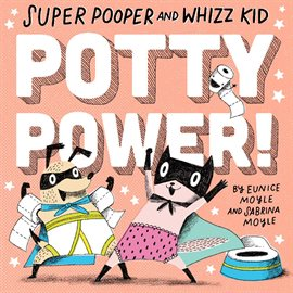 Cover image for Super Pooper and Whizz Kid