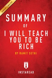 Summary of i will teach you to be rich. by Ramit Sethi cover image