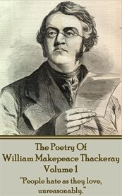 The Poetry of William Makepeace Thackeray