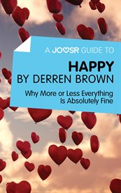 A Joosr Guide To... Happy by Derren Brown