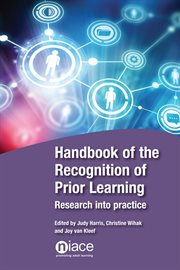 Handbook of the Recognition of Prior Learning