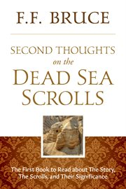 Second thoughts on the Dead Sea Scrolls cover image
