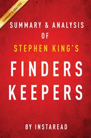 Finders Keepers by Stephen King| Summary and Analysis