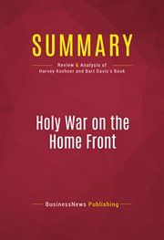 Summary of Holy War on the Home Front: the Secret Islamic Terror Network in the United States - Harv