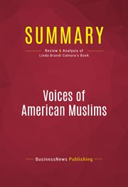 Summary of Voices of American Muslims - Linda Brandi Cateura