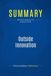 Book Summary: Outside Innovation