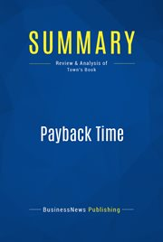 Book Summary: Payback Time