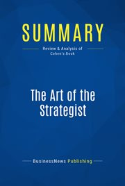 Book Summary: the Art of the Strategist