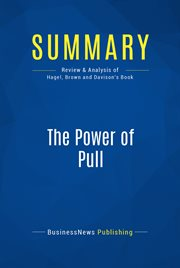 Book Summary: the Power of Pull