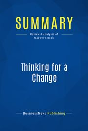 Book Summary: Thinking for A Change