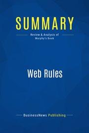 Book Summary: Web Rules