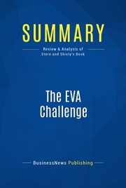 Summary : the Eva Challenge - Joel Stern and John Shiely