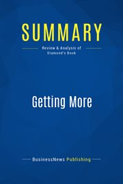 Book Summary: Getting More