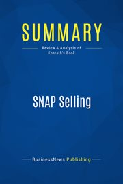 Book Summary: Snap Selling
