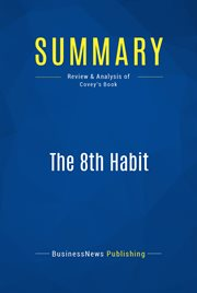 Book Summary: the 8th Habit
