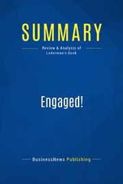 Book Summary: Engaged!