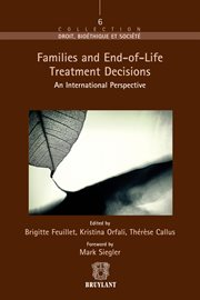 Families And End-of-life Treatment Decisions