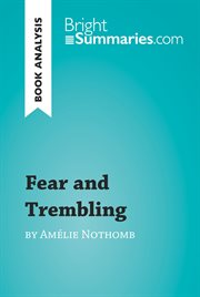 Fear and Trembling by Amľie Nothomb (reading Guide)