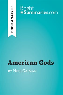 Book Analysis: American Gods by Neil Gaiman — Kalamazoo