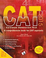 Cat 2015 - A Comprehensive Book for Cat Aspirants