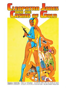 Cover image for Cleopatra Jones and the Casino of Gold