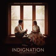 Indignation (original motion picture soundtrack) cover image