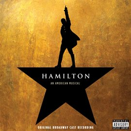 Hamilton: Original Broadway Cast Recording, book cover