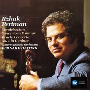 Violin concertos - mendelssohn & bruch cover image