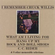 I remember chuck willis cover image