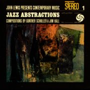 John lewis presents jazz abstractions cover image