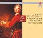 Bach, js : brandenburg concertos nos 1 - 6 [1964] cover image