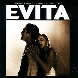 "Cover image for Music From The Motion Picture ""Evita"""