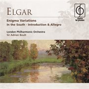 Elgar: enigma variations, in the south etc cover image