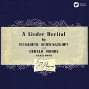 Lieder recital cover image
