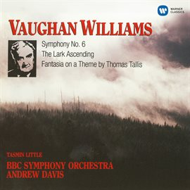 Cover image for Vaughan Williams: Symphony No. 6, The Lark Ascending, Fantasia On A Theme By Thomas Tallis