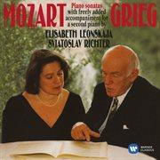 Mozart, grieg: piano sonatas cover image