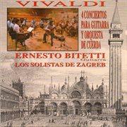 4 conciertos para guitarra y orquesta de cuerda cover image