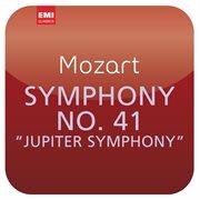 """Mozart: symphony no. 41 """"jupiter symphony"""" cover image"""