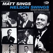 Matt sings and nelson swings cover image