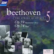 "Beethoven: String Quartets, Op.59 No.2 ""rasumovsky"" & Op.74 ""harp"""