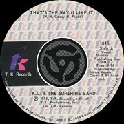 That's the Way [i Like It] / What Makes You Happy [digital 45]