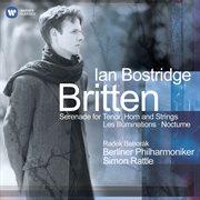 Britten: serenade for tenor, horn & strings - les illuminations - nocturne cover image