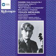 Paganini: violin concerto no. 1, etc cover image