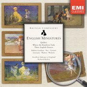 English miniatures cover image