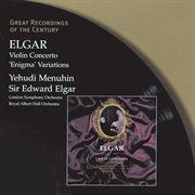 Elgar: violin concerto - 'enigma' variations cover image