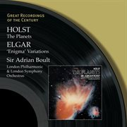 Holst: the planets - elgar: 'enigma' variations cover image