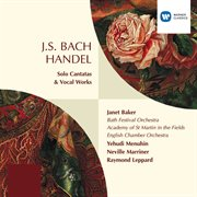 Bach & handel: solo cantatas & vocal works cover image