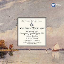 Cover image for Vaughan Williams On Wenlock Edge, Fantasia On A Theme By Thomas Tallis Etc