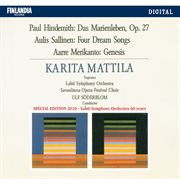 Hindemith / sallinen / merikanto cover image